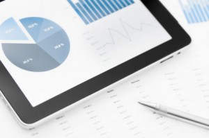 charts on tablet, Bookkeeping in Nashville, Tennessee and surrounding