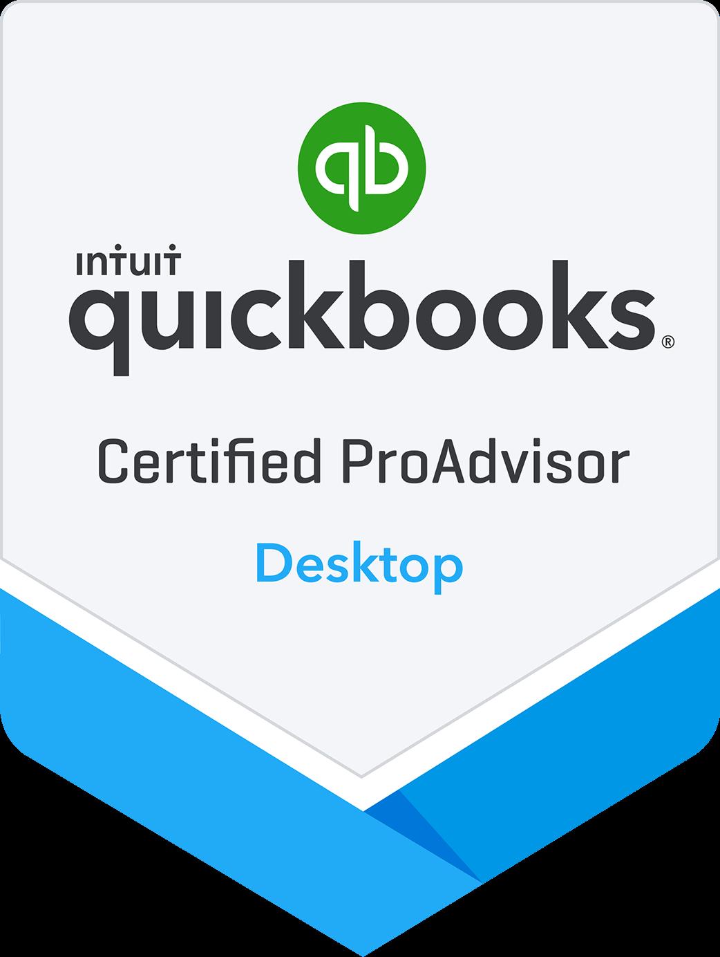 QuickBooks Certified Proadvisor Badge